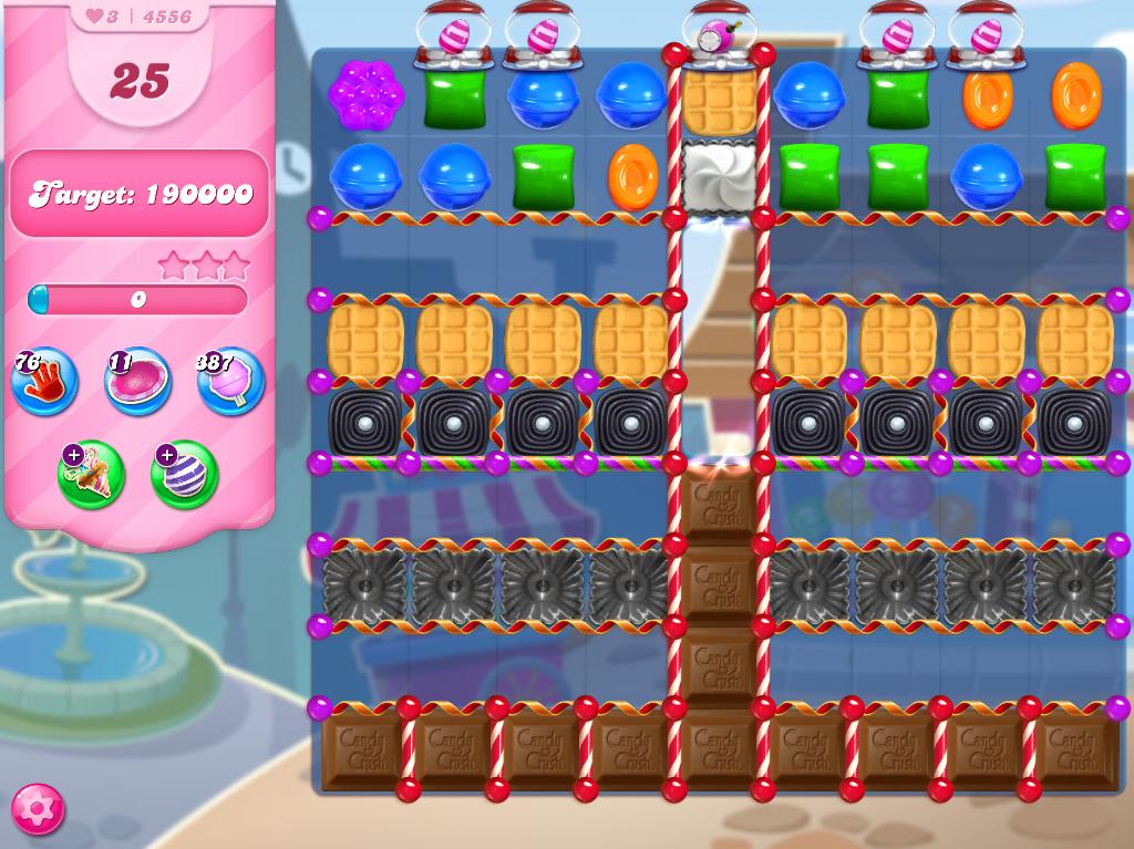 Candy Crush Saga level 4556
