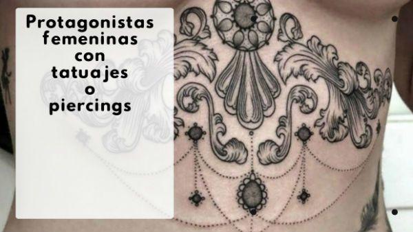 Novelas románticas de chicas con tatuajes o piercings