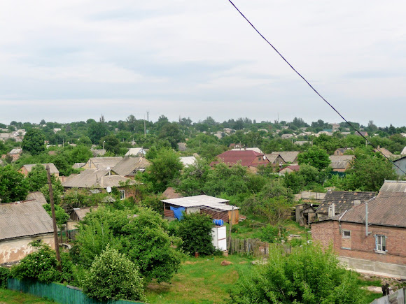 Костянтинівка. Приватний сектор житлового району Старе Селище