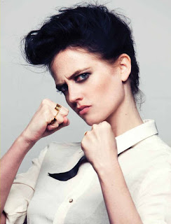 Eva Green Like A Boxer In Boy Cut Hair
