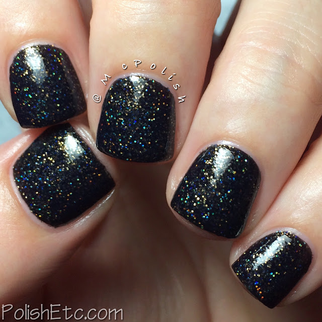 Digital Nails - Definitely Not Cute - McPolish - Secret Space Outlaw