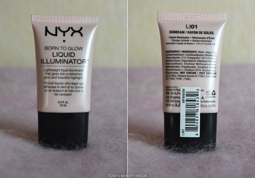 nyx sunbeam liquid illuminator born to glow