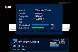 Cara tracking satelit Telkom 1 - 108.2E