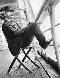 Марк Твен в Крыму