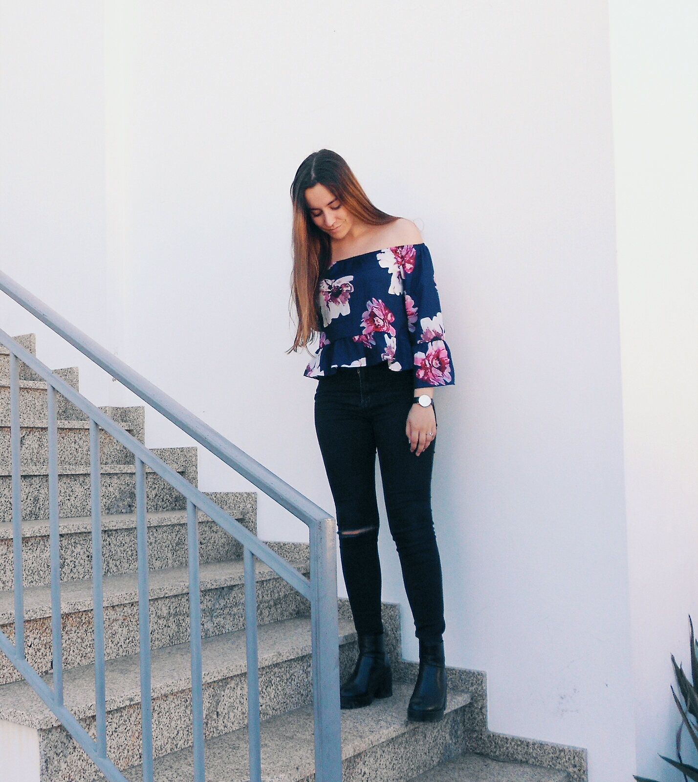 OOTD   FLORAL WITH YOINS