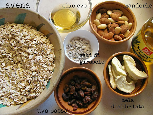 ingredienti muesli