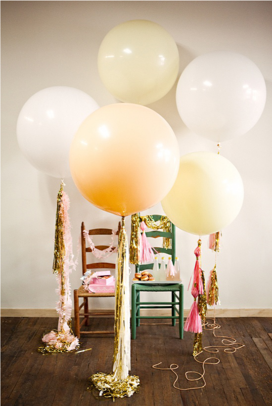 Wedding balloons, geronimo balloons