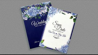 mẫu thiệp cưới đẹp 2018
