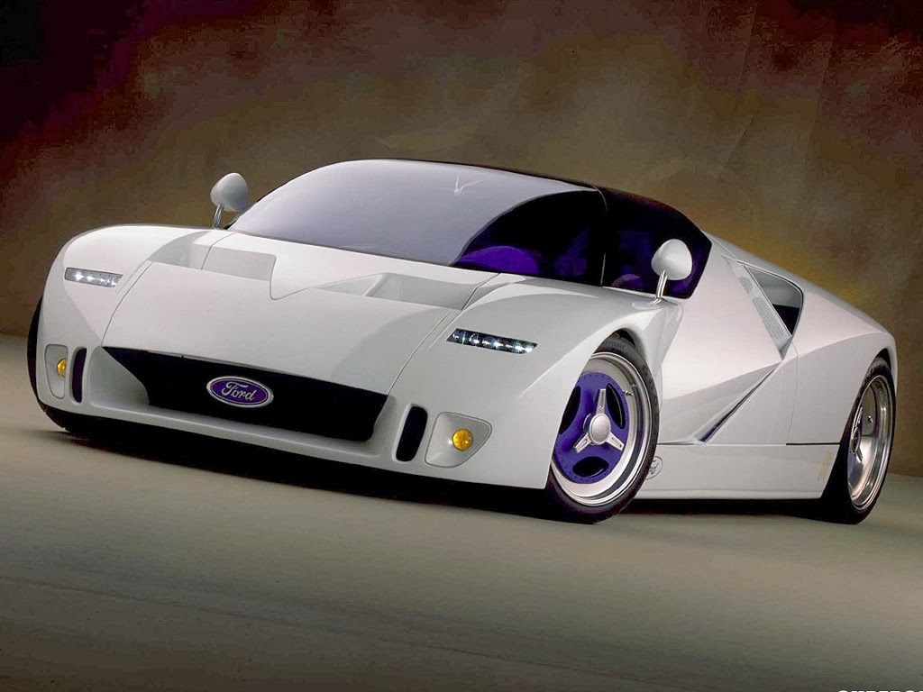 One Hundred Cars: Future Ford Sports Cars