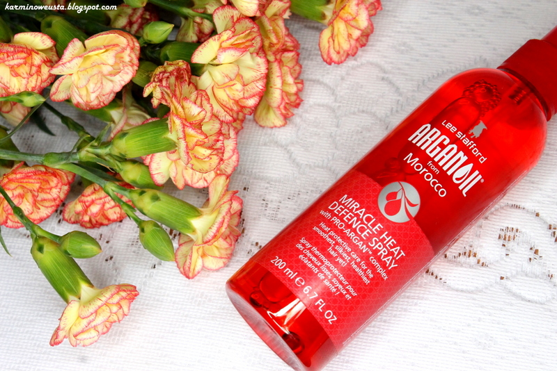Lee Stafford Argan Oil Miracle Heat Defence Spray