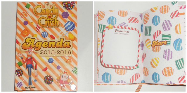 AGENDA CANDY CRUSH
