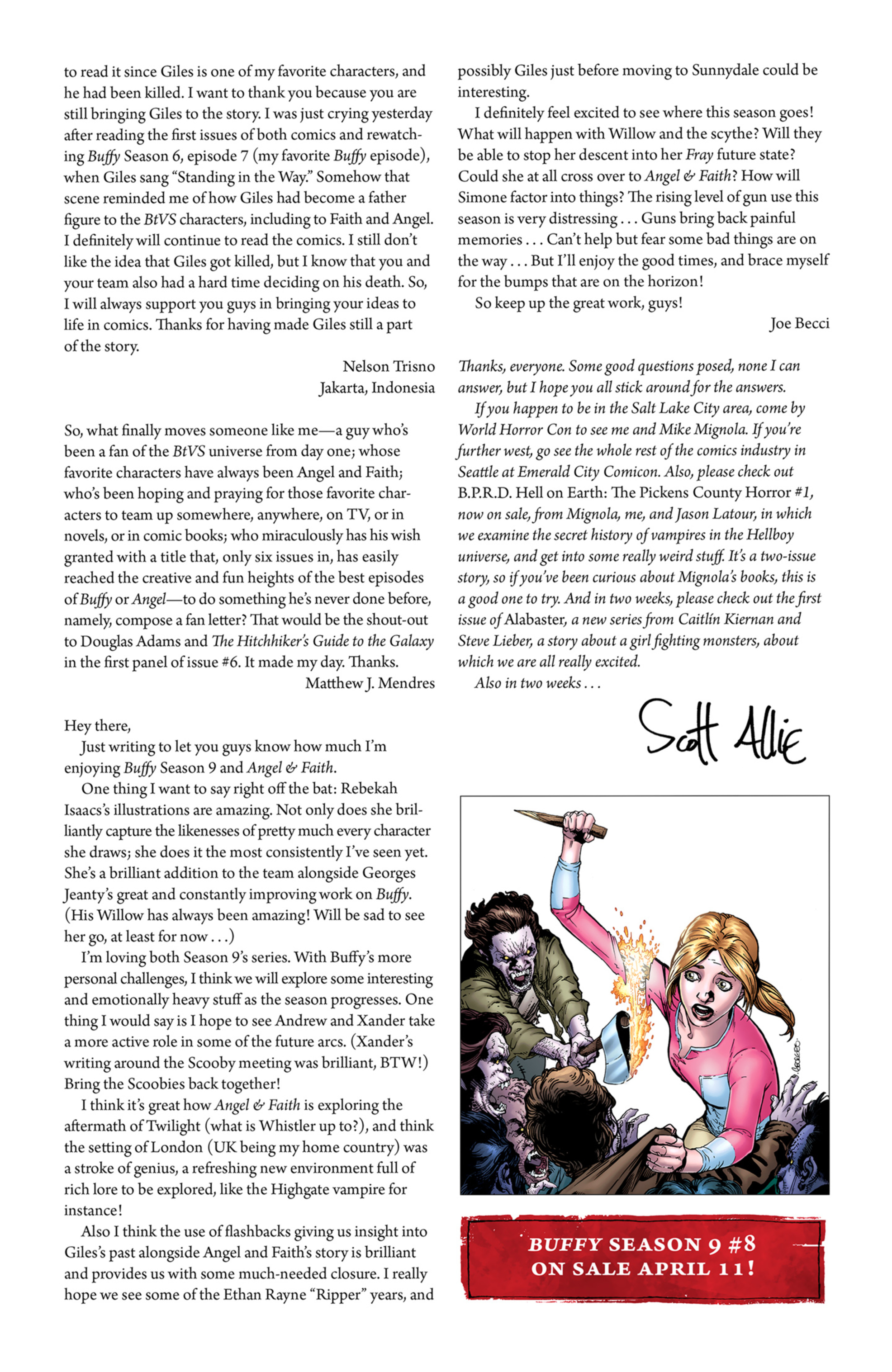 Read online Angel and Faith comic -  Issue #8 - 27