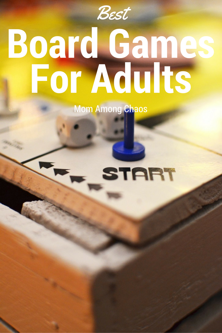 Mom among chaos best board games for adults for Table games for adults