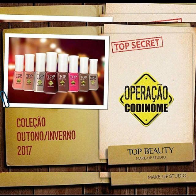 """Coleção """"Operação Codinome"""" da Top Beauty"""