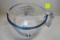 innen: Messbecher 1L Messkanne Rührschüssel Dosierhilfe Messkrug Glas Liter Pint