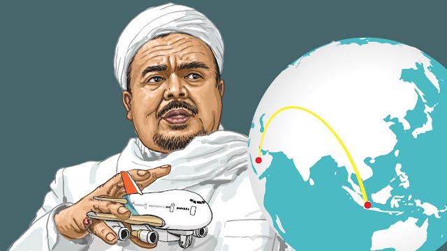 FPI Pastikan Habib Rizieq 'Hadir' dan Beri Ceramah di Reuni Super Akbar Aksi 212, Bakalan Heboh....