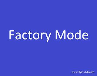 Factory mode semua merk tv