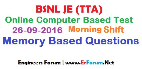 bsnl-je-26-09-2016-paper