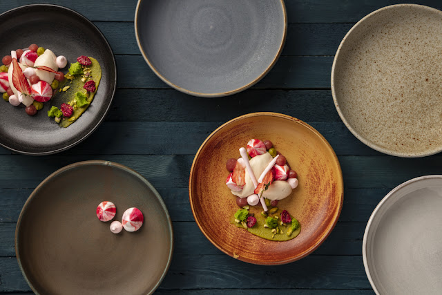 Olympia Canvas statement crockery for chefs