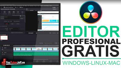 el mejor editor de videos profesional gratis