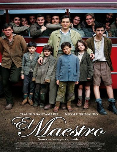 Ver El Maestro: Nunca es tarde para aprender (2014) Online