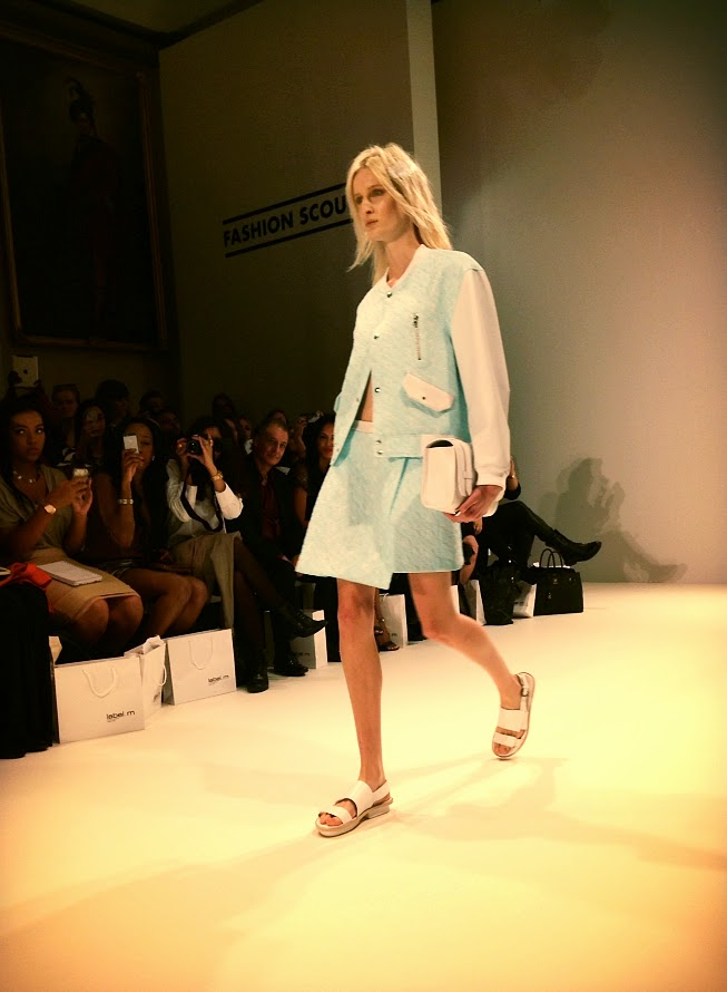 Jamie Wei Huang collection LFW fashion scout
