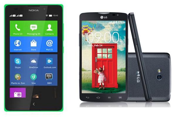 Sudah Ada di Pasar, Ini Banderol Nokia XL dan LG L80 Dual