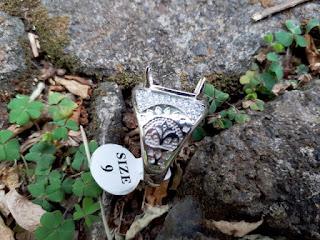 Ring Perak Hongkong 925 Kombinasi Zircon Mewah PRK042