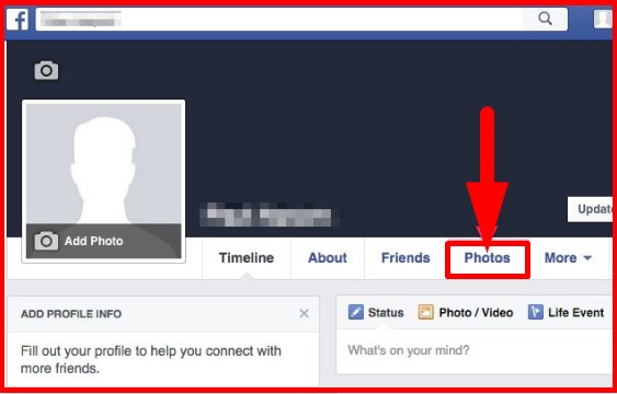 how to delete multiple pictures on facebook page