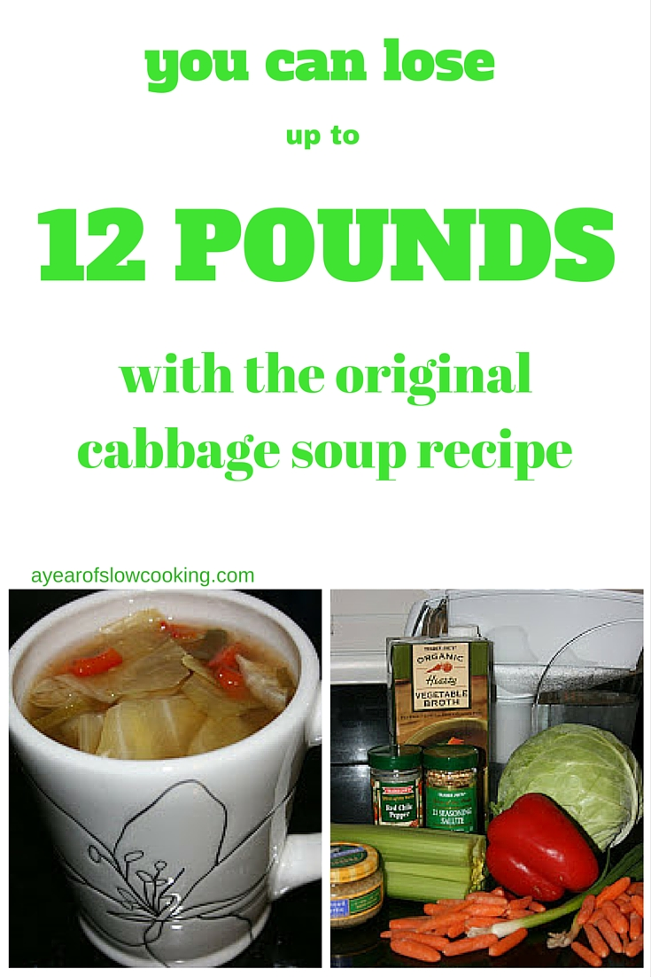 Cabbage Soup Diet Crockpot Recipe A Year Of Slow Cooking