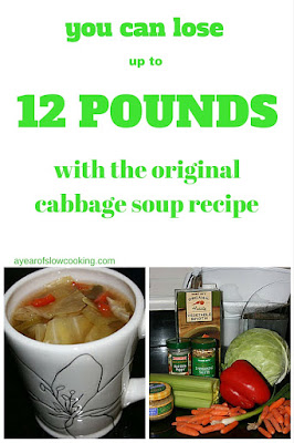 Certainly not a long term solution but if you are feeling sludgey you can drop some water weight pretty quickly. This is a crockpot recipe; one batch will last you a week.