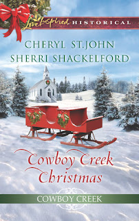 Heidi Reads... Cowboy Creek Christmas by Cheryl St. John and Sherri Shackelford