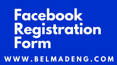 Facebook Registration Form