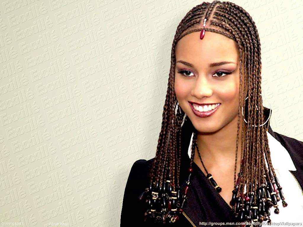 Sensational Alicia Keys Hairstyle Hairstyle And Hairstyles Short Hairstyles Gunalazisus