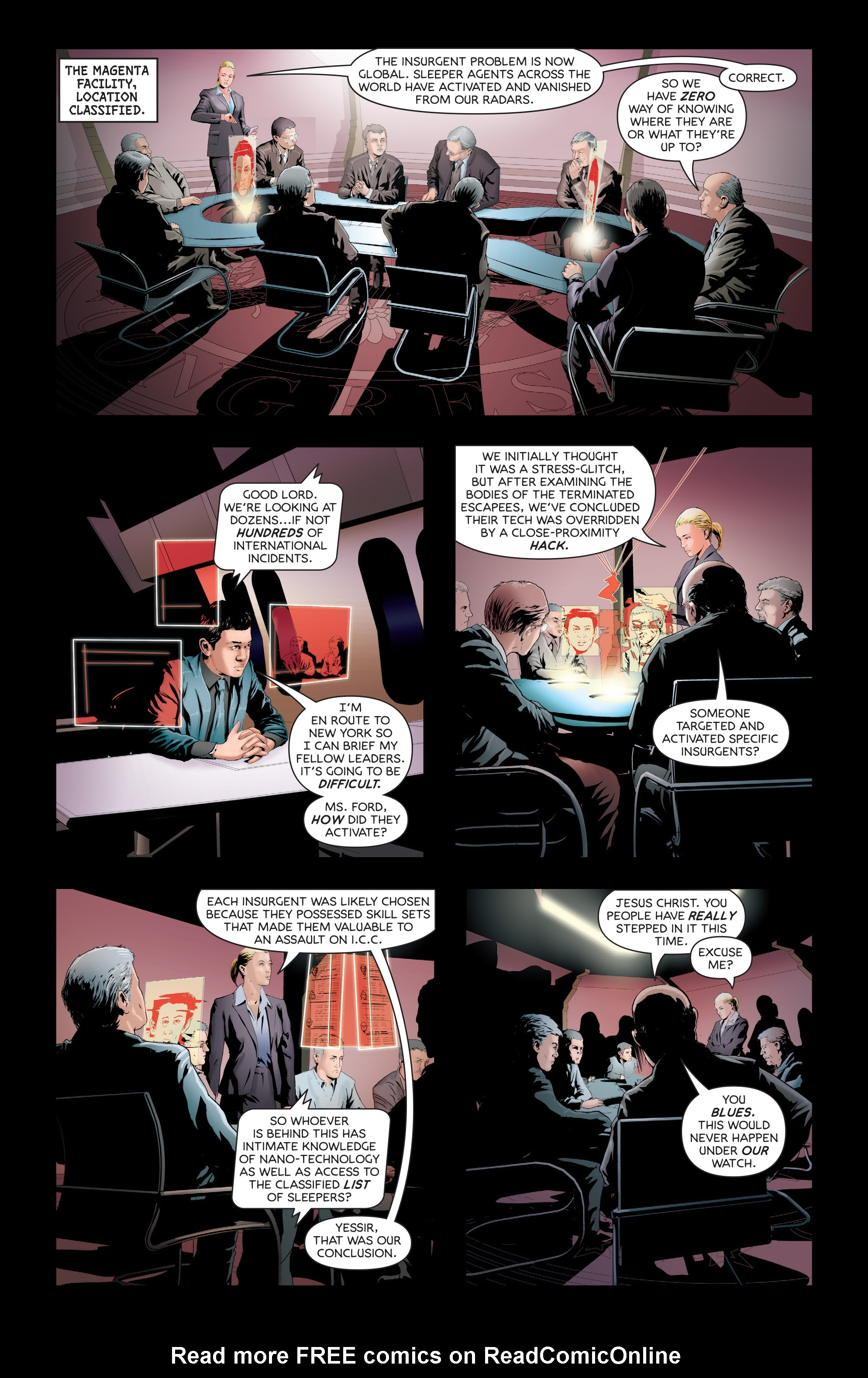 Read online Failsafe comic -  Issue #3 - 5
