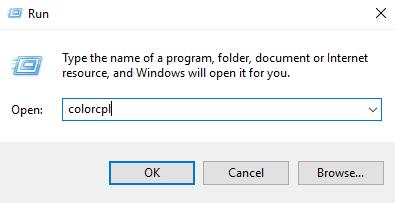 Khắc phục lỗi ảnh ngả màu vàng trong Windows 10