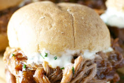 The Best Pulled Pork Sliders with Garlic Aioli