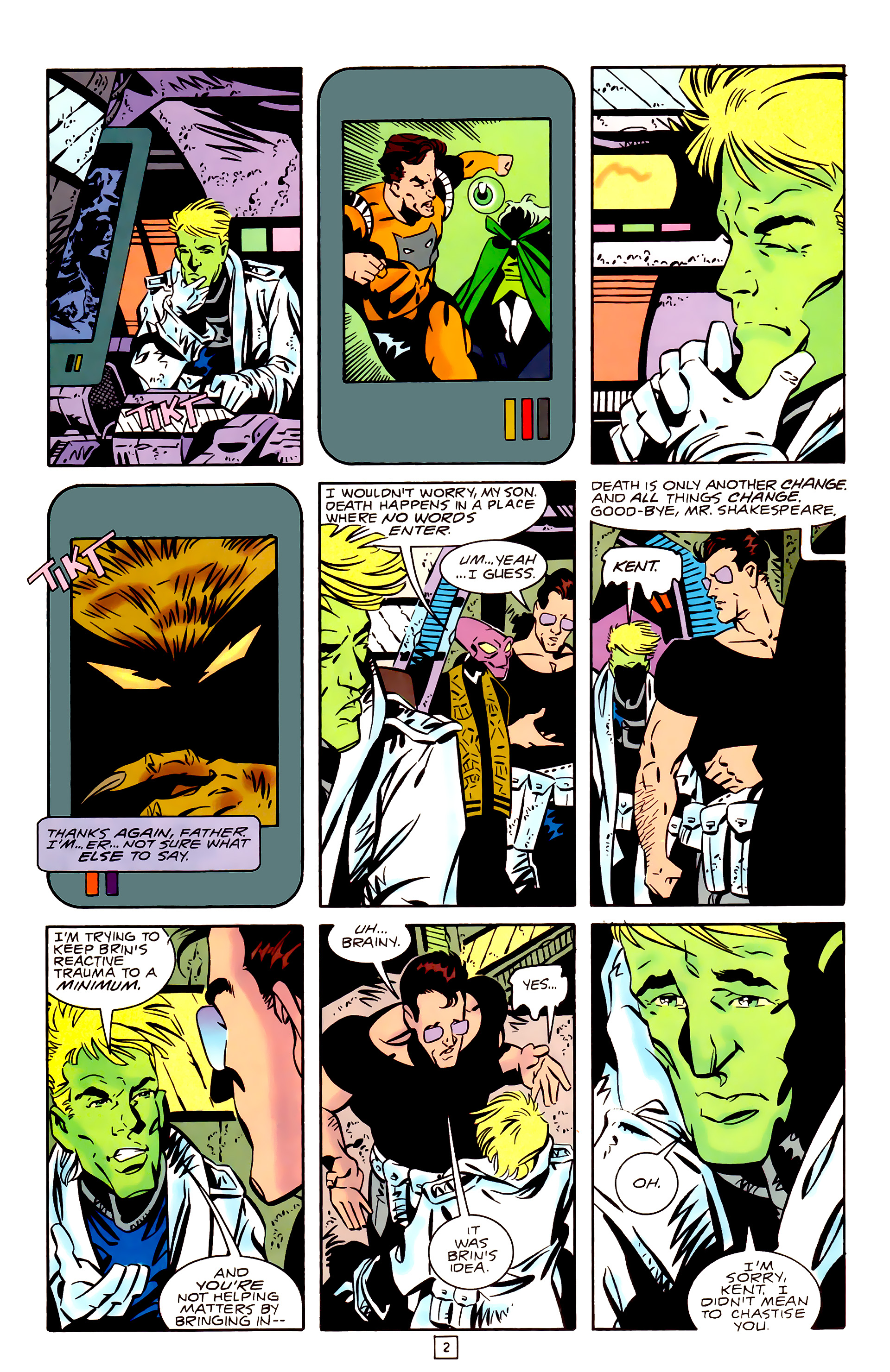 Legion of Super-Heroes (1989) _Annual_3 Page 2