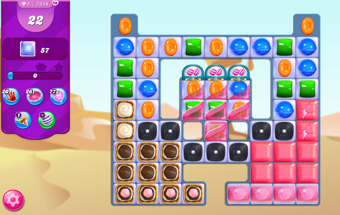 Candy Crush Saga level 7315