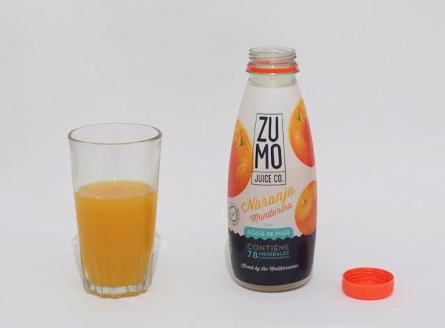 Zumo juice Co. Agua de Mar