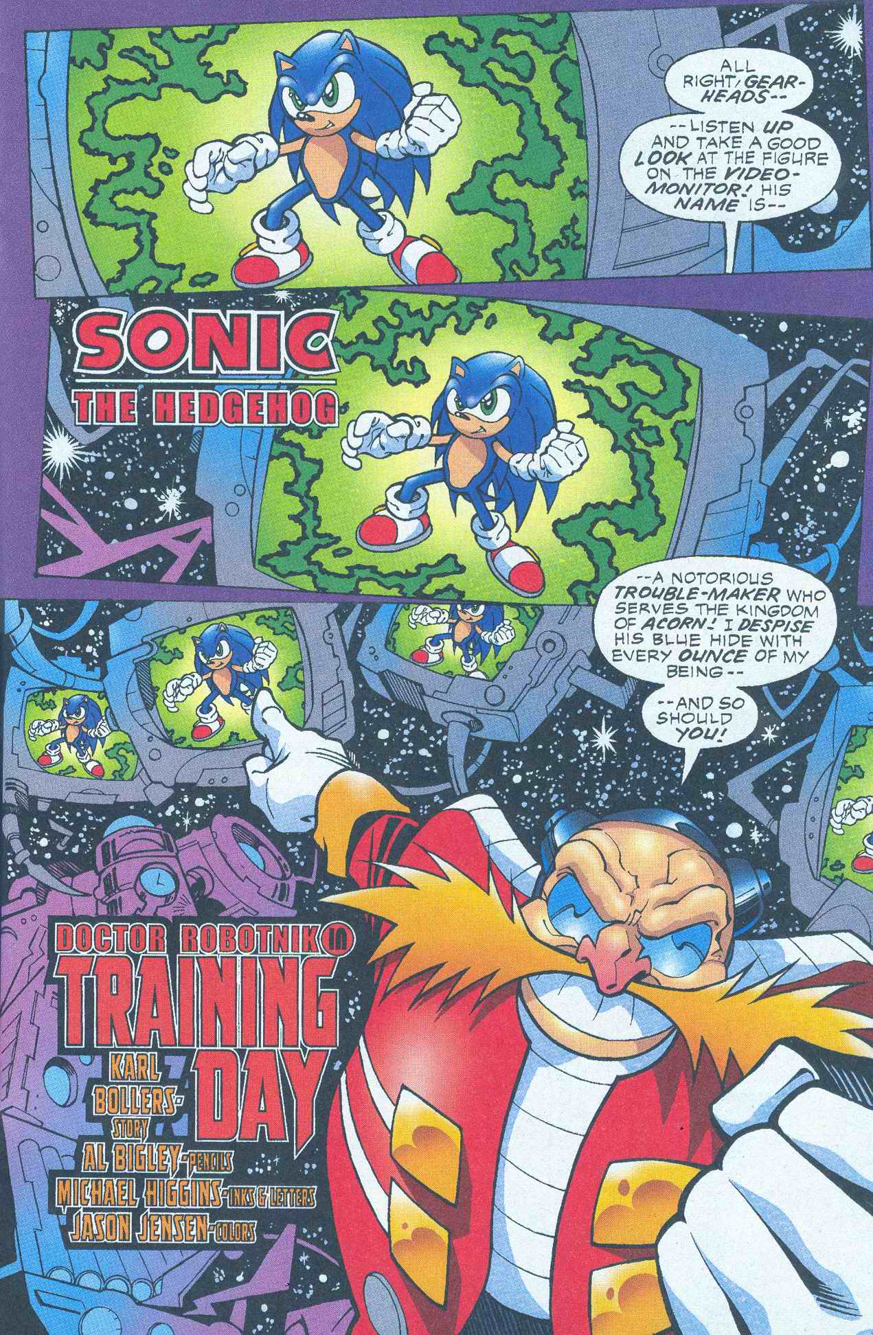 Read online Sonic The Hedgehog comic -  Issue #145 - 12