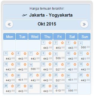 harga tiket pesawat jakarta jogja oktober 2015 hanya 440rb blog rh blog jagoantiket com
