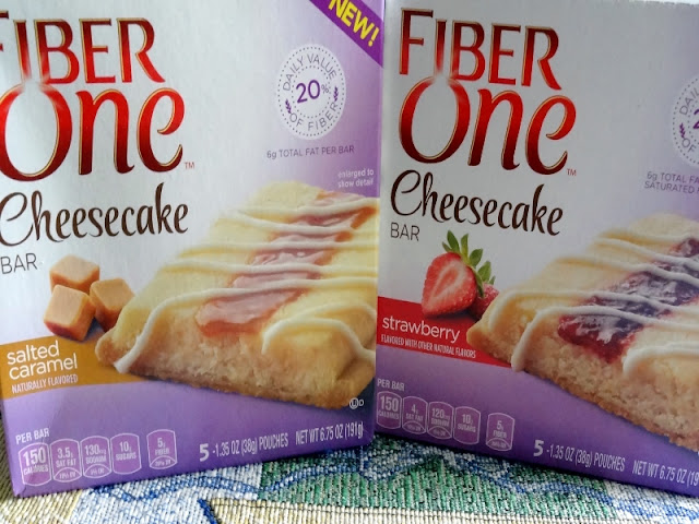 MyWAHMPlan: Fiber One Cheesecake bar giveaway