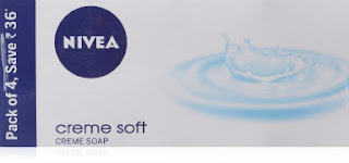 Nivea Creme Soft creme Soap ,125gm (Pack of 4) For Rs 150 (Flat 74 OFF) Free Ship Amazon