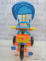 2 Sepeda Roda Tiga GoldBaby Pororo Eddy in Orange and Blue