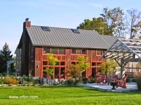 Modelo de casa de campo en Canadá