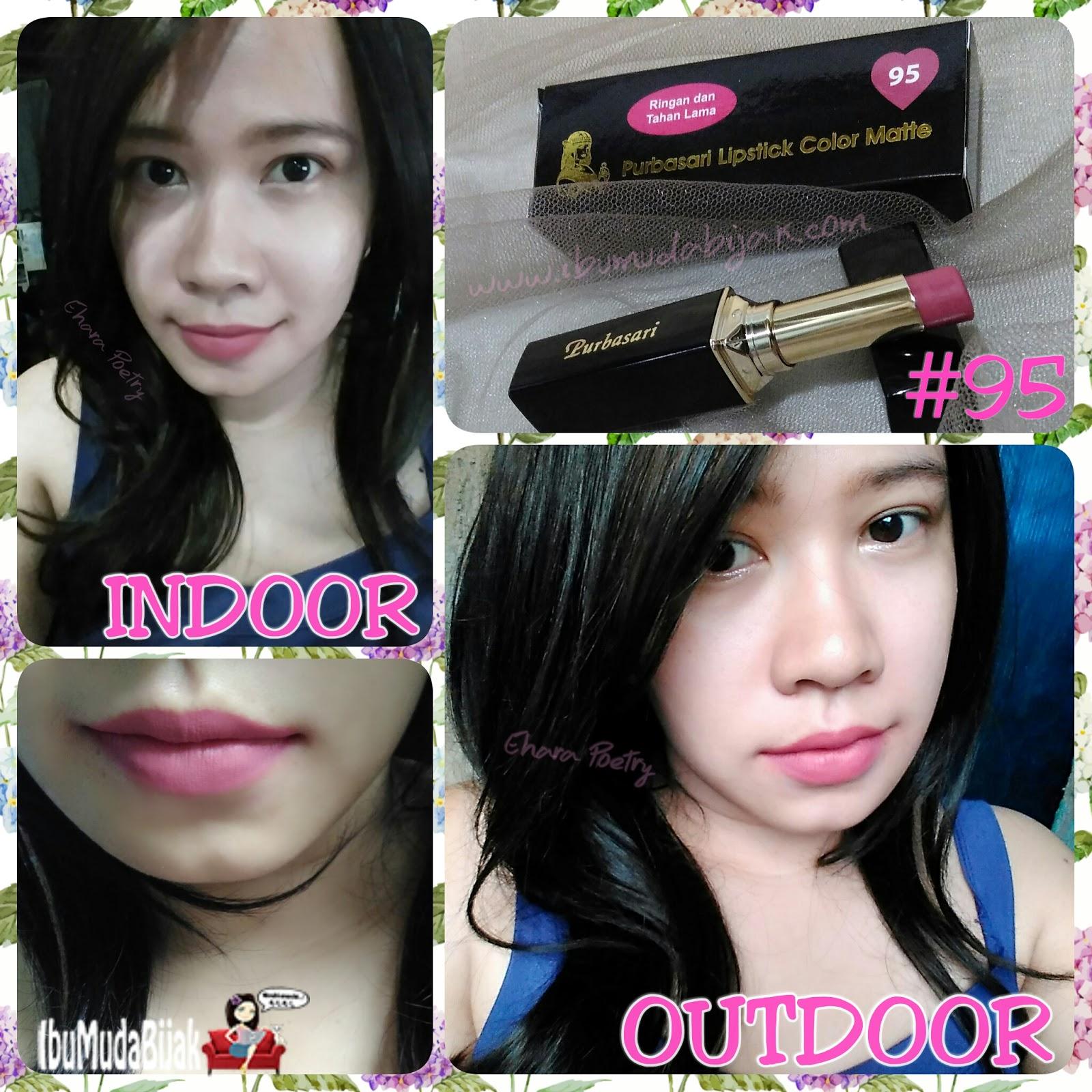 Review Purbasari Lipstick Color Matte Warna Baru 91 92 93 94 95