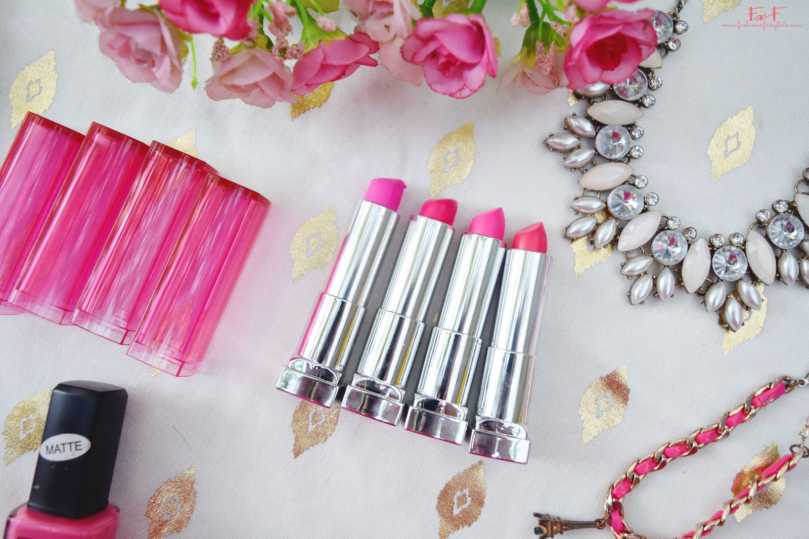 Maybelline Color Sensational Pink Alert Lipsticks