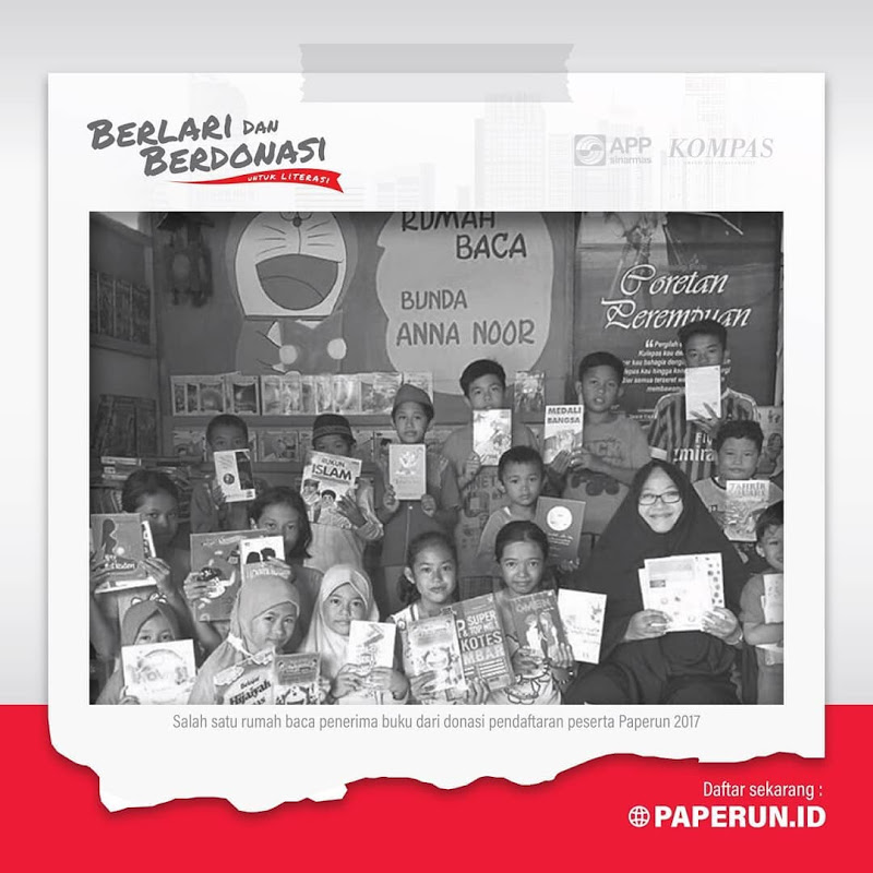Donasi Paperun 2019