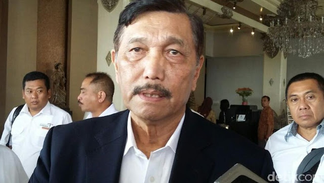 Luhut Mengaku Ditelepon Prabowo Saat di Washington DC